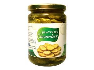 Slice cucumber pickle