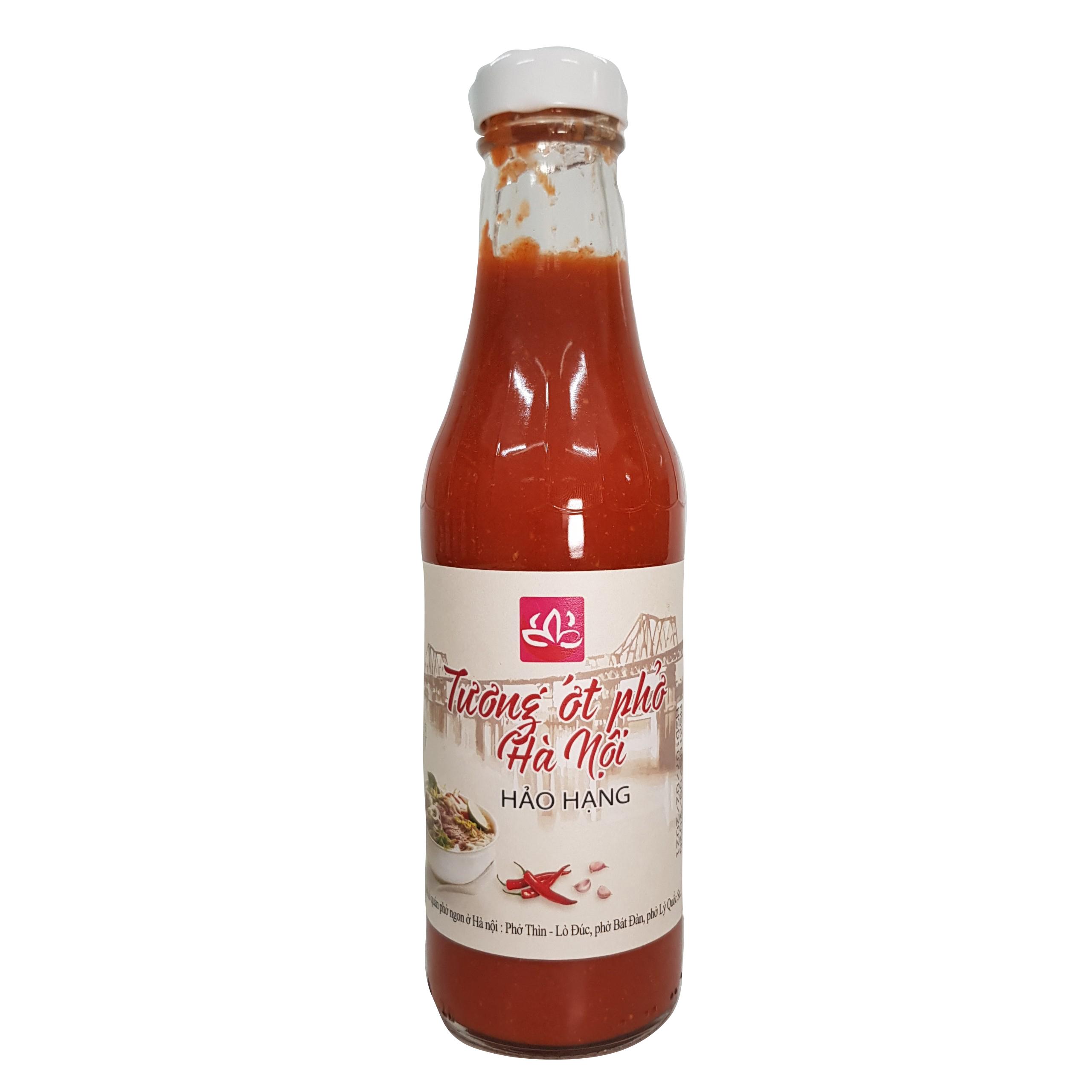 Chili sauce for noodle soup
